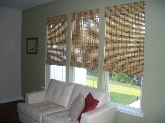 Photo Gallery Custom Woven Wood Shades Raleigh
