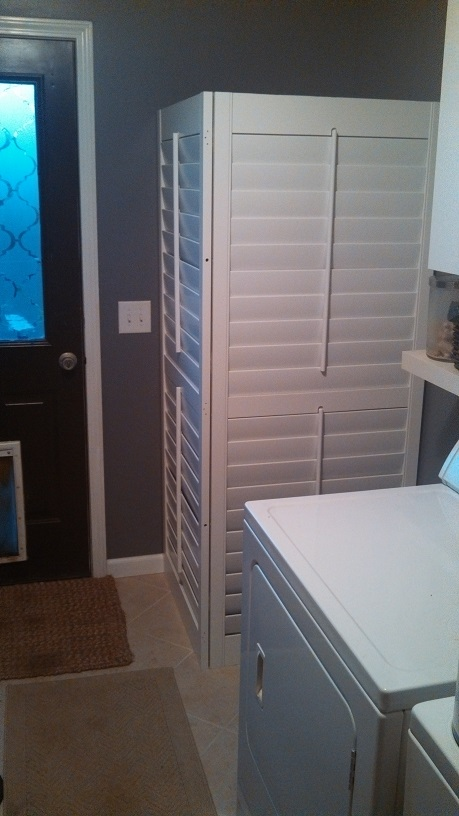 Another Use For Plantation Shutters Carolina Blind Crafters