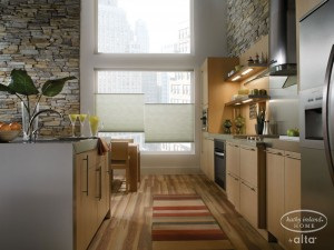 Cellular Shades Kitchen